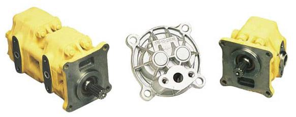 Hydraulic Transmission and Steering Pumps , engine Komatsu