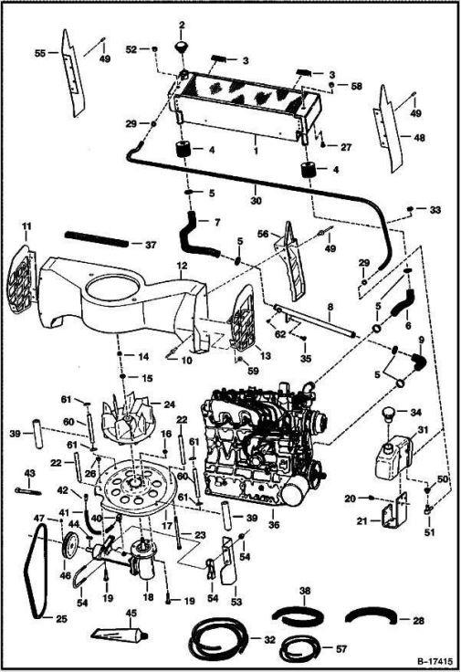 Bobcat 763 Hydraulic Control Valve